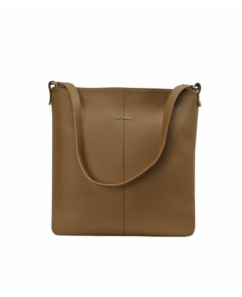 Women's shoulder bag, brown