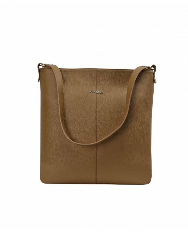 Women's shoulder bag, brown